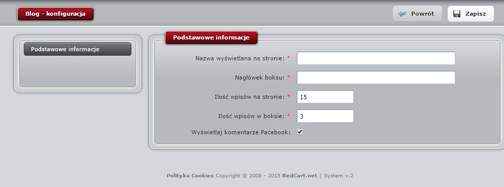 redCart_konfiguracja